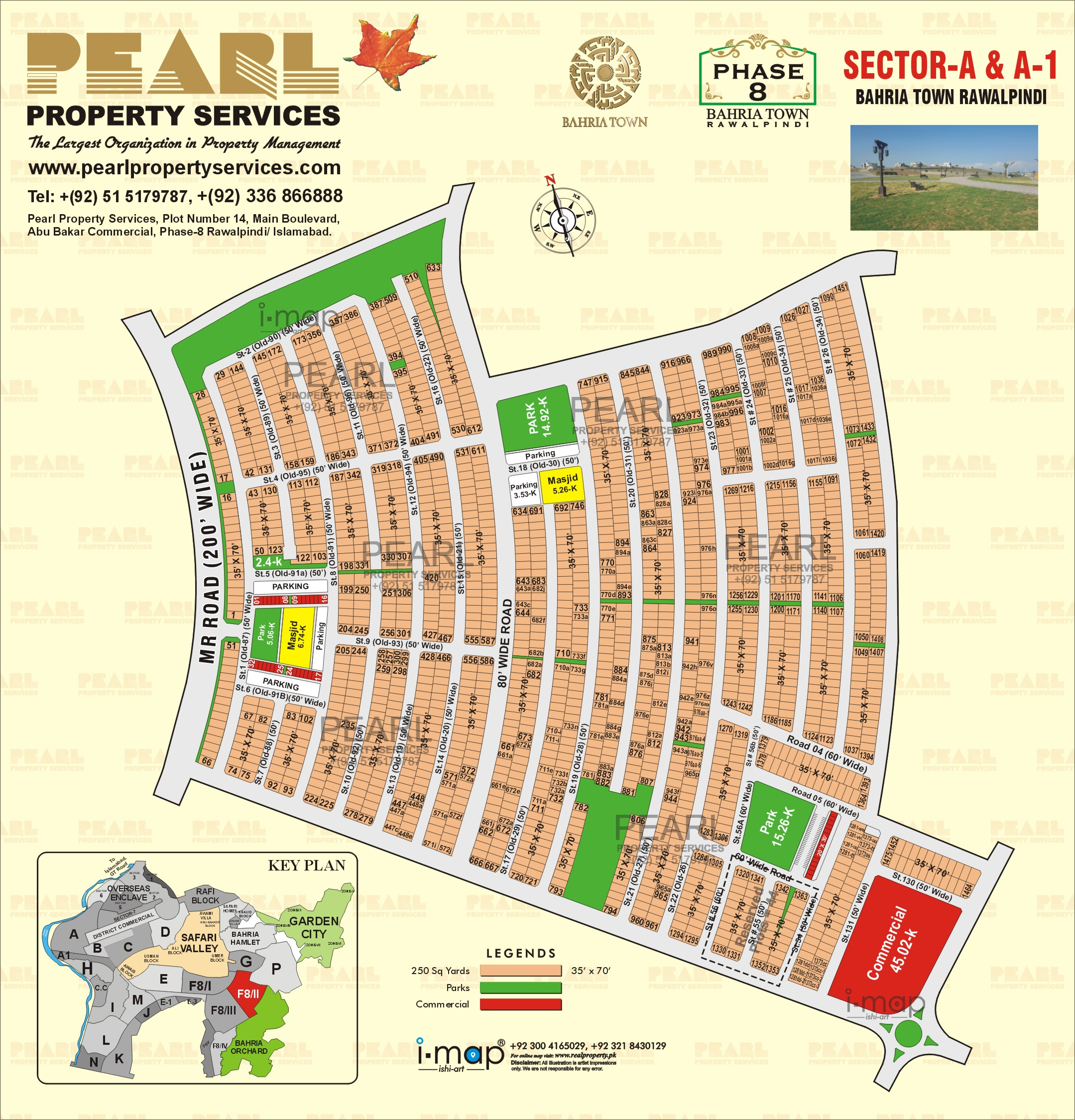 Bahria Town Islamabad Phase 8: Pearl Property Services